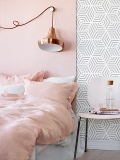 Cute Pink Bedroom Design Ideas 25