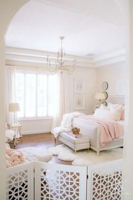 Cute Pink Bedroom Design Ideas 28