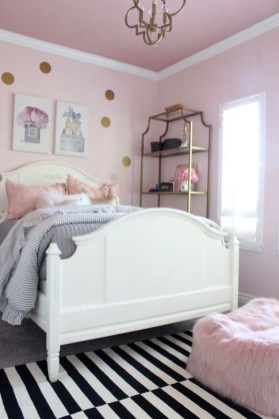 Cute Pink Bedroom Design Ideas 46
