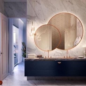 Dreamy Bathroom Lighting Design For Your Home 25
