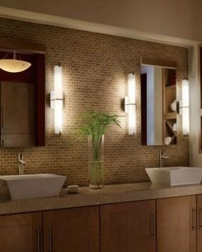 Dreamy Bathroom Lighting Design For Your Home 43
