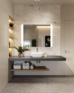 Dreamy Bathroom Lighting Design For Your Home 50