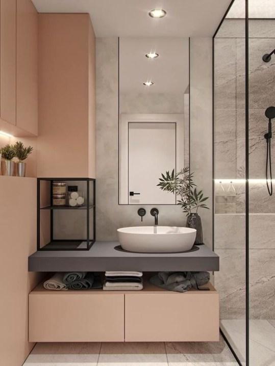 Dreamy Bathroom Lighting Design For Your Home 52