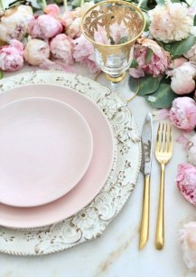 Elegant Table Settings Ideas For Valentines Day 04