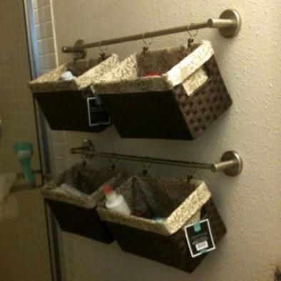 extraordinary girls bathroom organization idea   55 Extraordinary Bathroom Storage Concepts Ideas For Your ...
