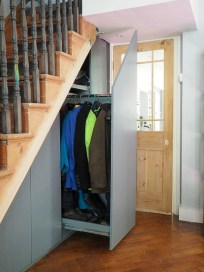 Genius Storage Ideas For Under Stairs 17