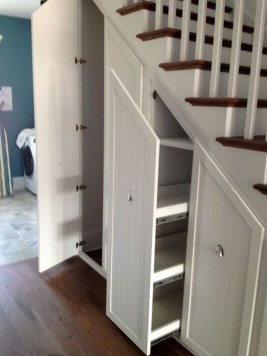 Genius Storage Ideas For Under Stairs 19