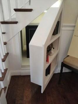 Genius Storage Ideas For Under Stairs 20