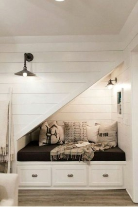 Genius Storage Ideas For Under Stairs 28