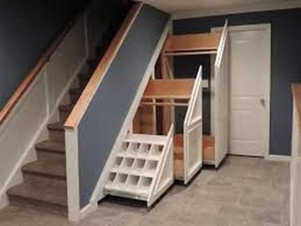 Genius Storage Ideas For Under Stairs 37