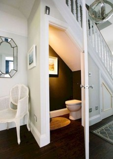 Genius Storage Ideas For Under Stairs 47