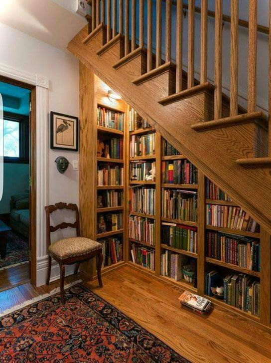Genius Storage Ideas For Under Stairs 49