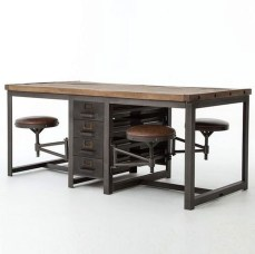 Modern And Unique Industrial Table Design Ideas 02
