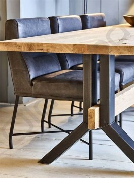 Modern And Unique Industrial Table Design Ideas 06
