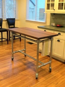 Modern And Unique Industrial Table Design Ideas 18