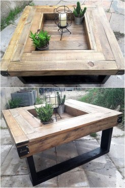 Modern And Unique Industrial Table Design Ideas 26
