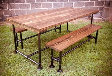 Modern And Unique Industrial Table Design Ideas 35
