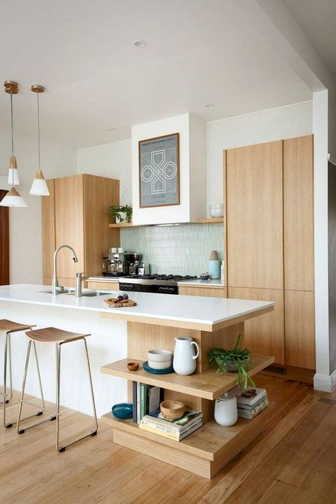 Modern Mid Century Kitchen Design Ideas For Inspiration 31