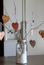 Simple DIY Valentines Day Decor Ideas 12