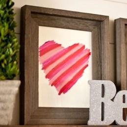 Simple DIY Valentines Day Decor Ideas 41