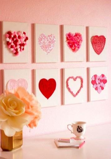 Simple DIY Valentines Day Decor Ideas 42