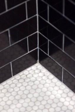The Best Ideas Black Shower Tiles Design 16