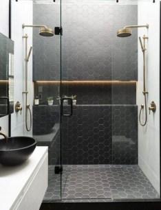 The Best Ideas Black Shower Tiles Design 19