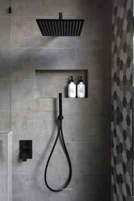 The Best Ideas Black Shower Tiles Design 26