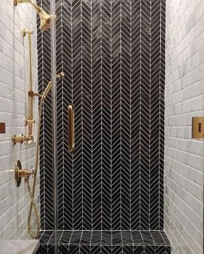 The Best Ideas Black Shower Tiles Design 35