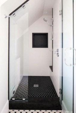 The Best Ideas Black Shower Tiles Design 46