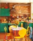 Unique And Colorful Kitchen Design Ideas 39
