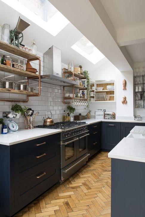 Unique And Colorful Kitchen Design Ideas 41