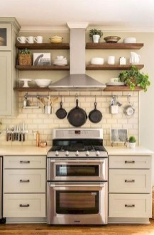 Affordable Farmhouse Kitchen Cabinets Ideas 22