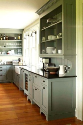 Affordable Farmhouse Kitchen Cabinets Ideas 42