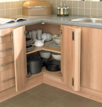 Affordable Farmhouse Kitchen Cabinets Ideas 44
