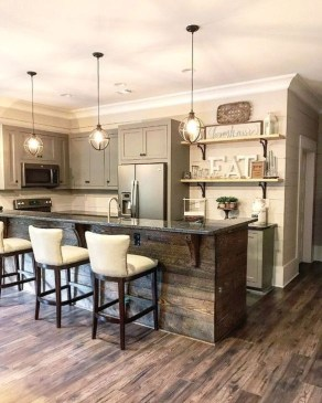 Affordable Farmhouse Kitchen Cabinets Ideas 47