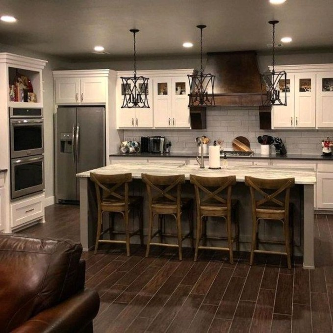 Affordable Farmhouse Kitchen Cabinets Ideas 49