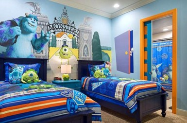 Awesome Disney Bedroom Design Ideas For Your Children 29