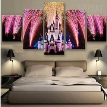 Awesome Disney Bedroom Design Ideas For Your Children 37