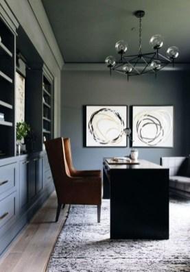 Brilliant Home Office Decoration Ideas 08