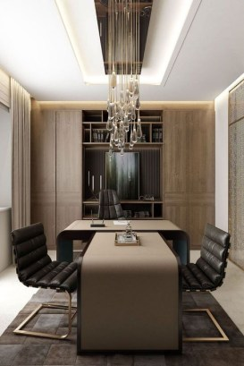 Brilliant Home Office Decoration Ideas 24
