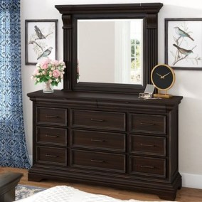 Classy Bedroom Dressers Ideas With Mirror 16
