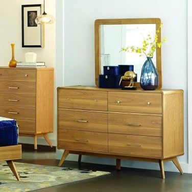 Classy Bedroom Dressers Ideas With Mirror 29