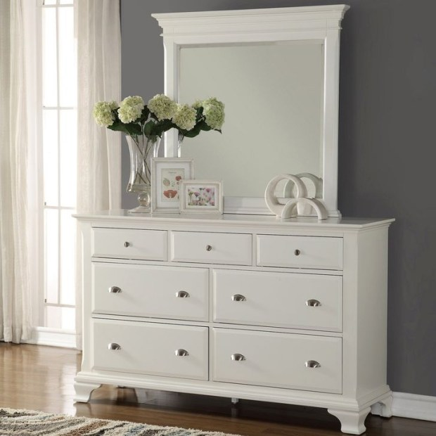 Classy Bedroom Dressers Ideas With Mirror 38