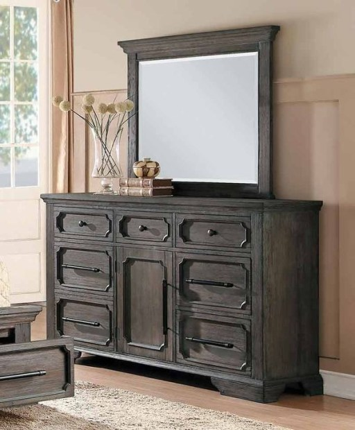 Classy Bedroom Dressers Ideas With Mirror 39