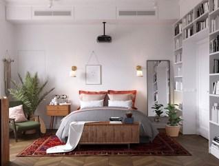 Cool Scandinavian Bedroom Design Ideas 39