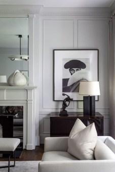 Cozy Black And White Living Room Design Ideas 07