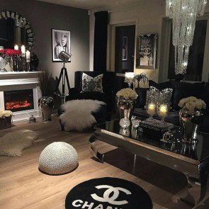Cozy Black And White Living Room Design Ideas 14