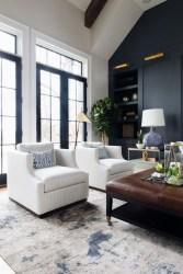 Cozy Black And White Living Room Design Ideas 23