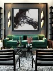 Cozy Black And White Living Room Design Ideas 25